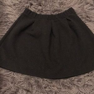 girls textured skirt